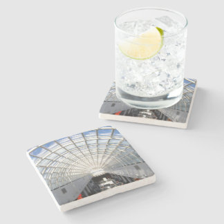 Glass Ceiling Fine Art Photography Stone Coaster