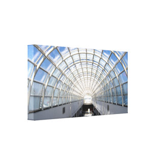 Glass Ceiling Fine Art Photography Wrapped Canvas