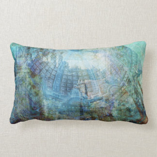 Glass Ceiling Lumbar Pillow