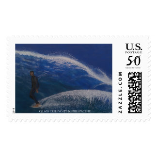 Glass ceiling postage