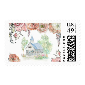 Glass Chapel Stamp