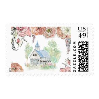 Glass Chapel Stamp