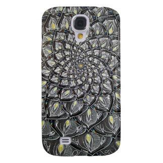 Glass Chrysanthemum Samsung Galaxy S4 Cover
