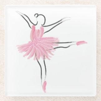 Glass Coaster - Tutu Love - Paquita