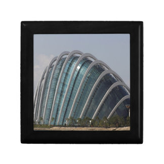 Glass conservatory at Gardens by the Bay Trinket Box