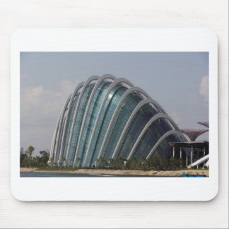 Glass conservatory at Gardens by the Bay Mouse Pad