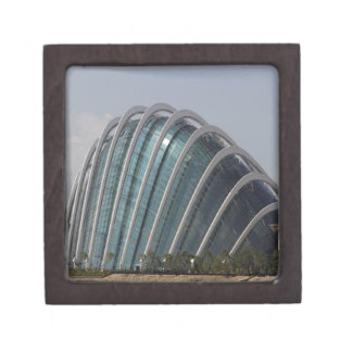 Glass conservatory at Gardens by the Bay Premium Gift Box