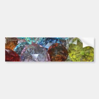 Glass Craft Beads Bumper Sticker
