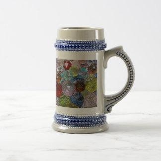 Glass Craft Beads Coffee Mug