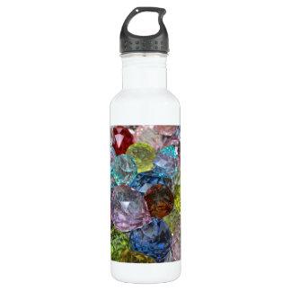 Glass Craft Beads 24oz Water Bottle