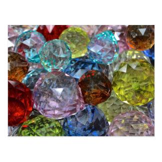 Glass Craft Beads Postcard