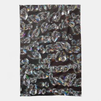 Glass Crystals Reflection Towel