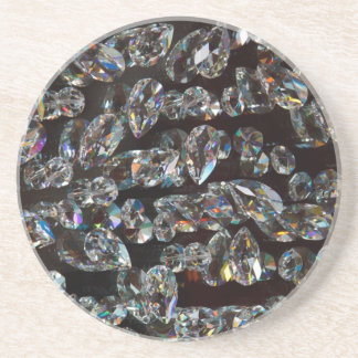 Glass Crystals Reflections Coaster