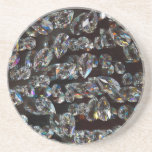 Glass Crystals Reflections Coasters