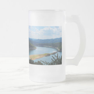 Glass cup of Edersee in North Hesse