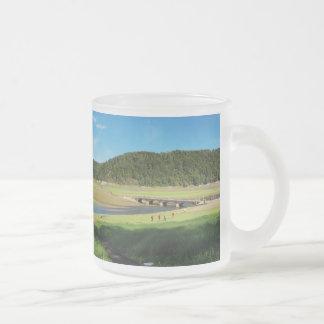 Glass cup of Edersee old bridge Asel
