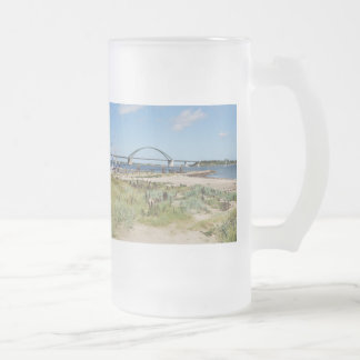 Glass cup of Fehmarnsundbrücke