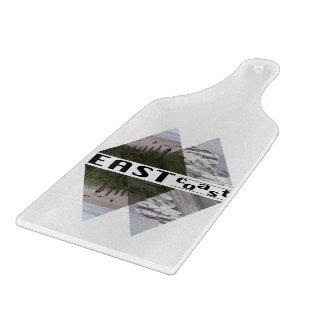 "Glass Cutting Board 4.75"" x 12.75""  EAST COAST"
