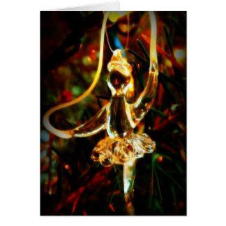 Glass Dancer Christmas Card