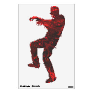 Glass Demon Blood Zombie Wall Decal