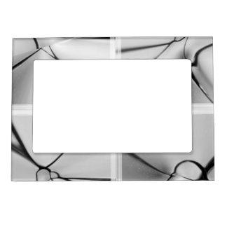Glass design magnetic photo frame