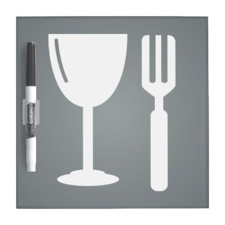 Glass Dines Graphic Dry Erase Boards