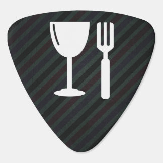 Glass Dines Graphic Guitar Pick