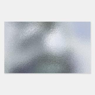 Glass Distort (11 of 12) White Rectangular Sticker