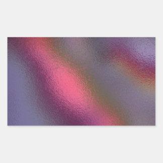 Glass Distort (12 of 12) Rectangular Sticker