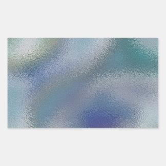 Glass Distort (6 of 12) Rectangular Sticker