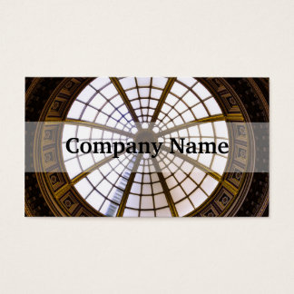 Glass Dome Architecture, National Gallery Business Card