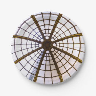 Glass Dome Architecture, National Gallery Paper Plate