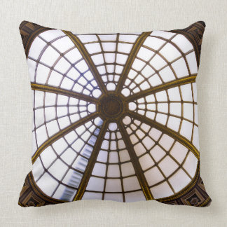 Glass Dome Architecture, National Gallery Throw Pillow