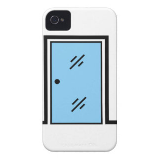 glass door with frame Case-Mate iPhone 4 case