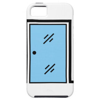 glass door with frame iPhone SE/5/5s case