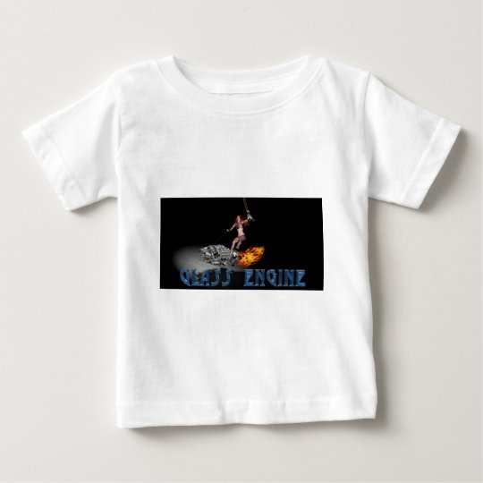 Glass engine banner 4-23 redux solid glass baby T-Shirt