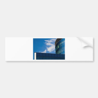glass facade - corporate building bumper sticker