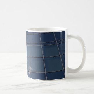glass facade - corporate building coffee mug