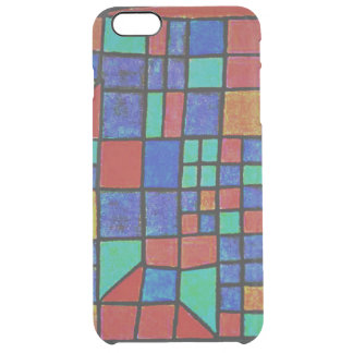 Glass Facade. Paul Klee artwork. Clear iPhone 6 Plus Case
