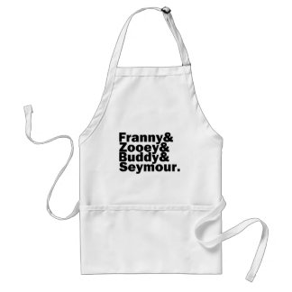 Glass Family Adult Apron