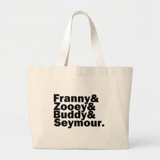 Glass Family Large Tote Bag