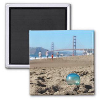 Glass float at Baker's Beach Magnet