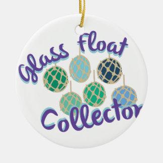 Glass Float Collector Ceramic Ornament