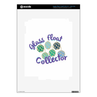 Glass Float Collector Decal For iPad 3