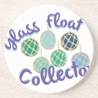 Glass Float Collector Drink Coaster