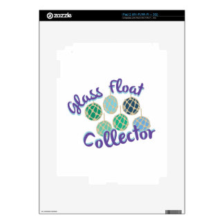 Glass Float Collector iPad 2 Skins