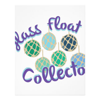 Glass Float Collector Letterhead