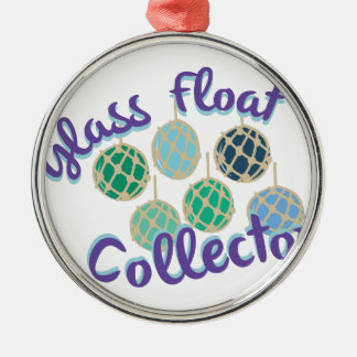 Glass Float Collector Metal Ornament