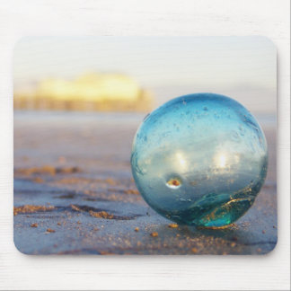 Glass float near Romeo pier Mouse Pad