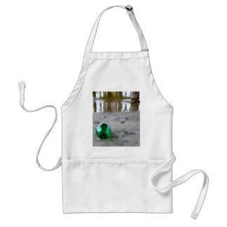 Glass float under pier adult apron